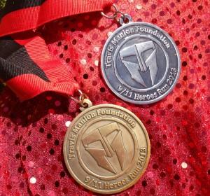 9-11 Heroes Run Medals
