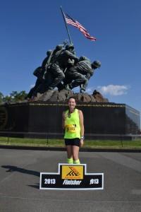 Race Recap:  2013 Marine Corps Marathon