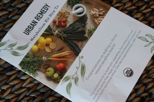 Review:  Urban Remedy Metabolism Kit