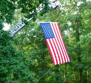 911 Heroes Run 2014 Flag