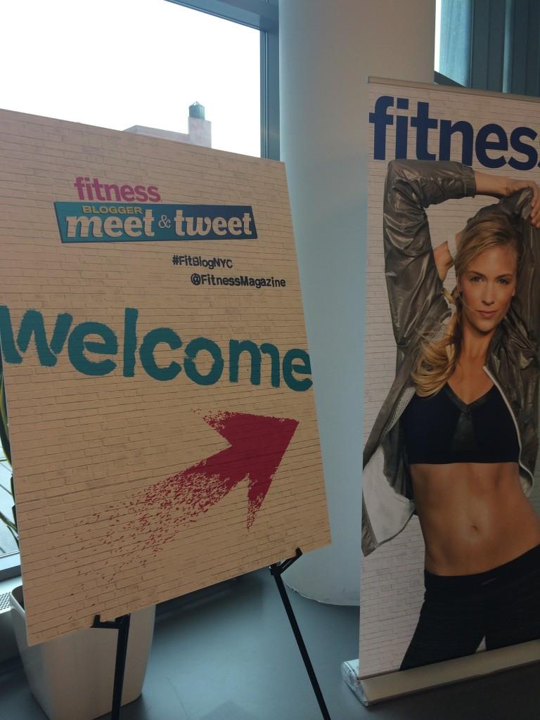 2014 Fitness Blogger Meet and Tweet NY