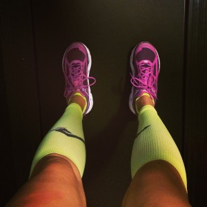 Treadmill and Hokas