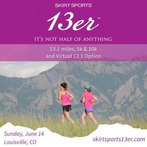 Giveaway Alert! Skirt Sports 13er Virtual Race