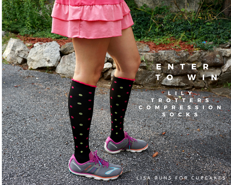 ENTER TO WIN Lily Trotters Compression Socks