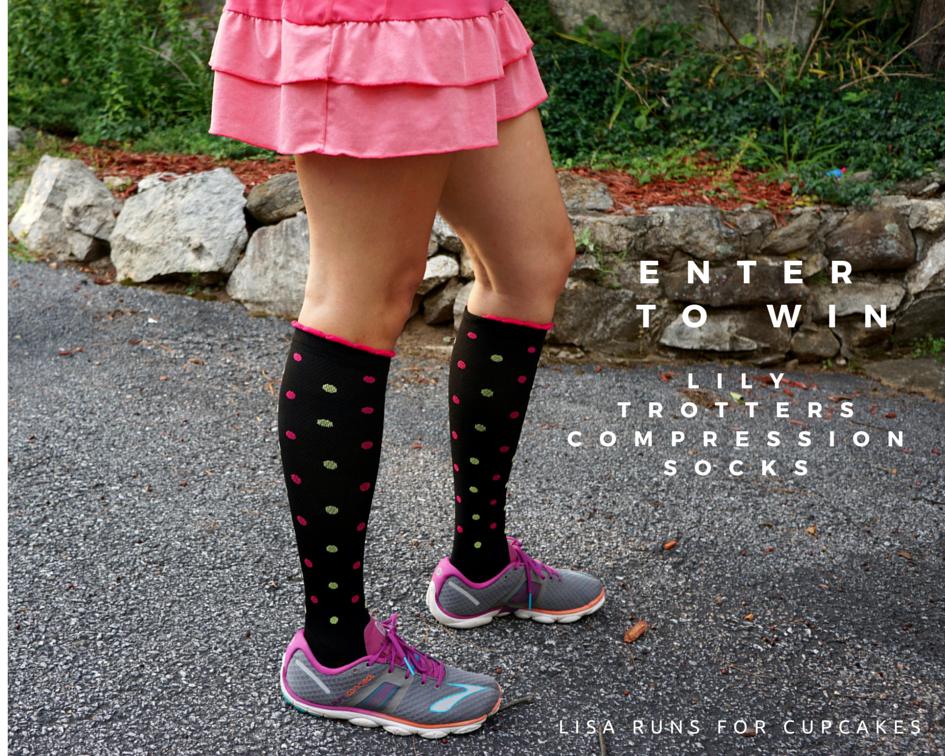 ENTERTO WIN Lily Trotters Compression Socks