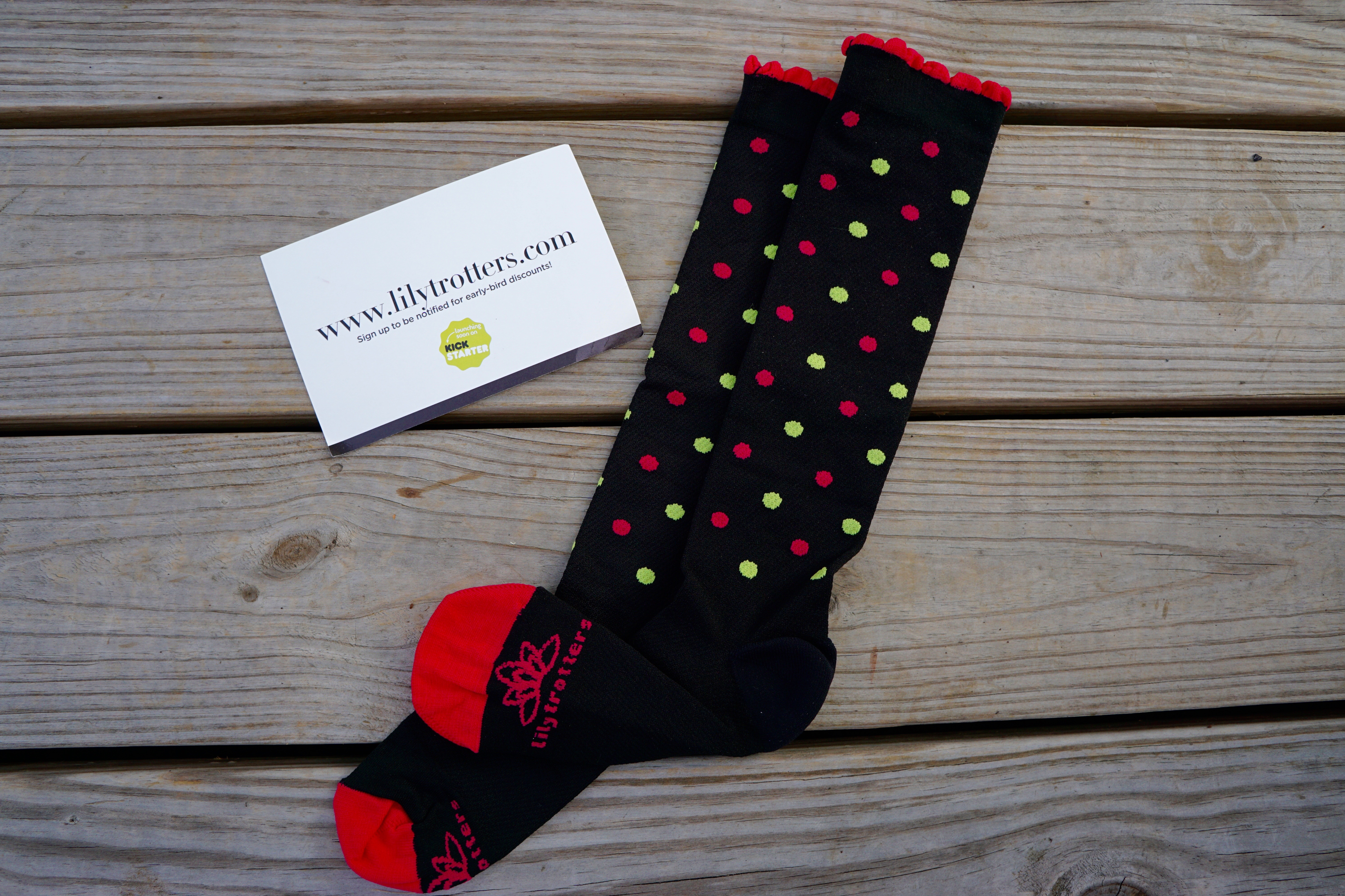8e10f2856e Lily Trotters Compression Socks Review and Giveaway! Lisa Runs for ...