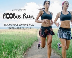Friday Five:  Support your Sisters!  The 5 W's of the Skirt Sports Virtual Boobie Run