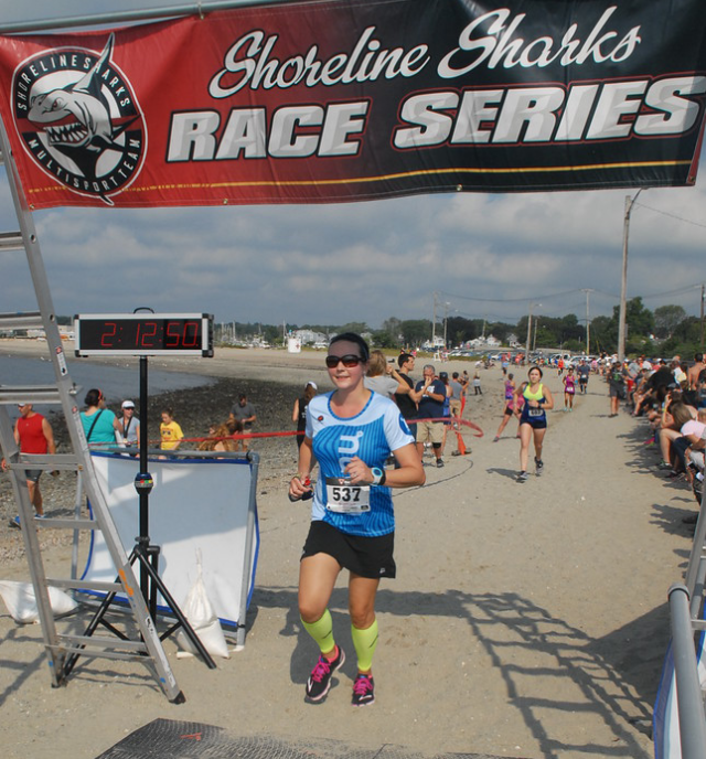 Gulf Beach Half Marathon Finish