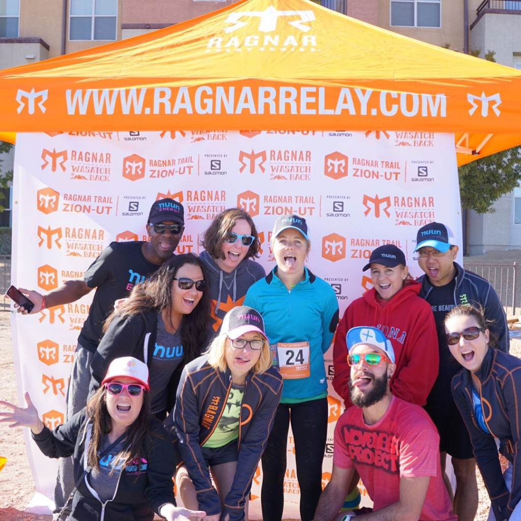 Ragnar Vegas with Nuun Hydration