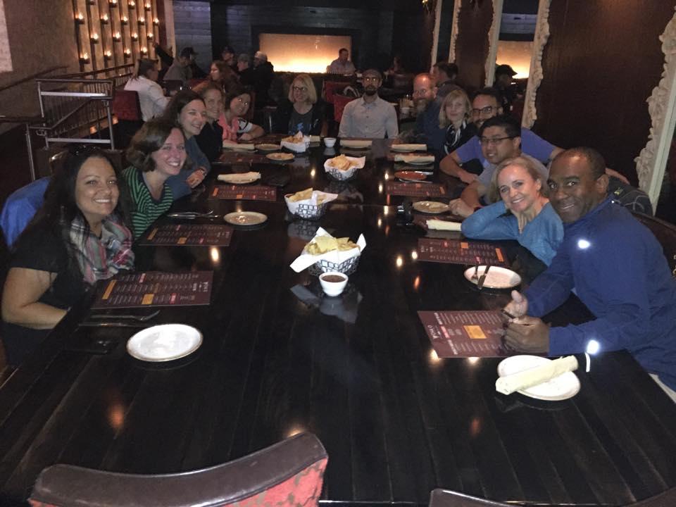 Team Nuun Dinner