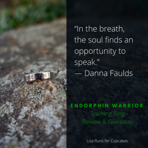 Breathe: Mantras, Heart Rate Training, & An Endorphin Warrior Giveaway
