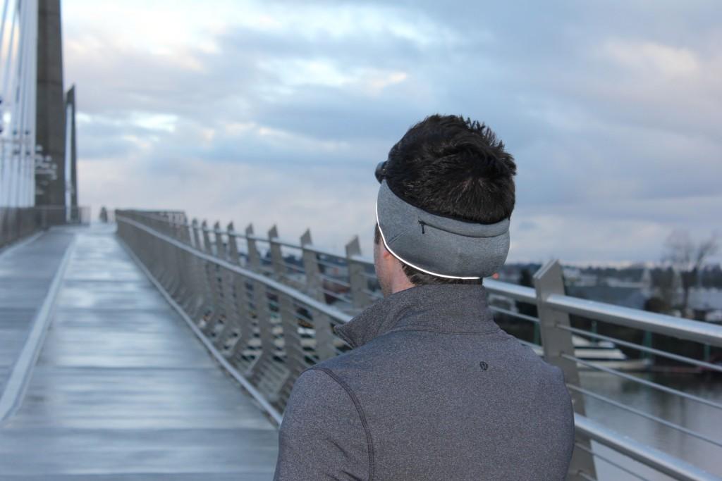 Headband from the back