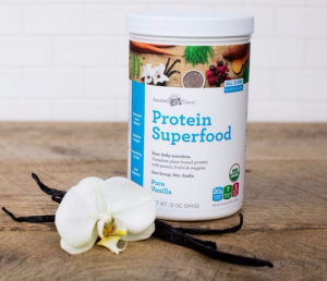 Review and Giveaway:  Amazing Grass Protein Superfood