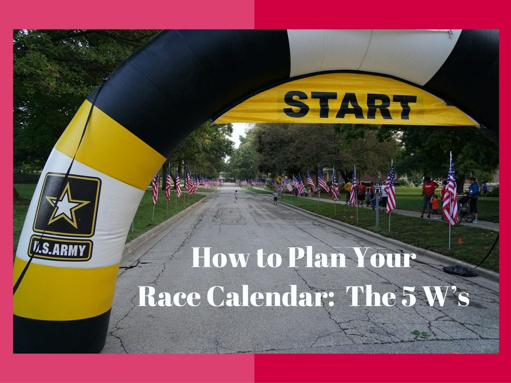 How to Plan Your Race Calendar